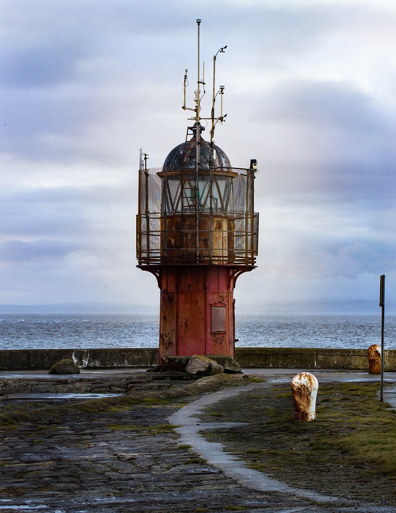 Secret lighthouse, Heysham