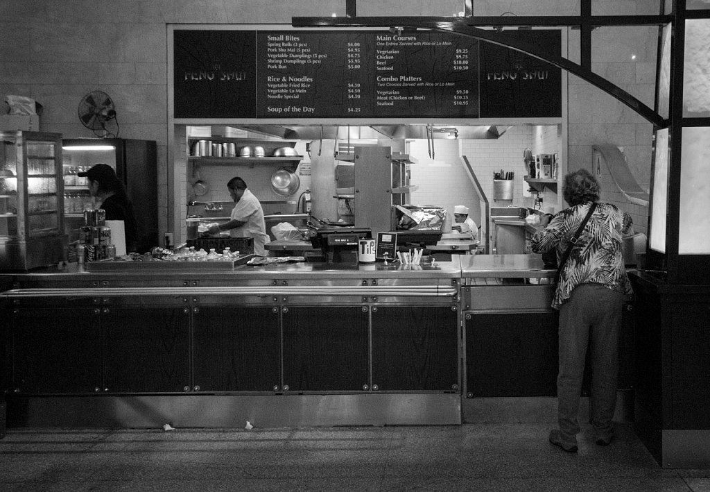 Snack bar, Grand Central station