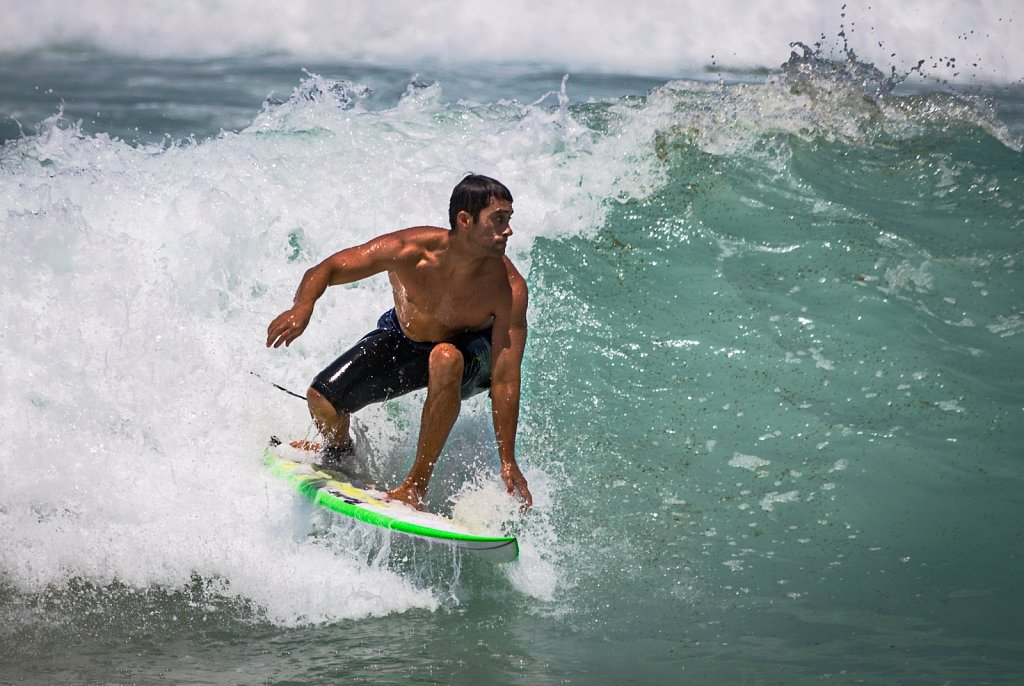 Bondi beach surfing  - no 1
